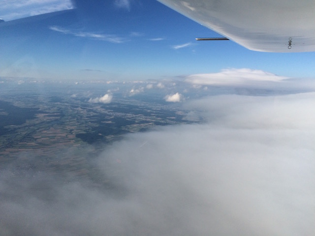 End of the cloud cover