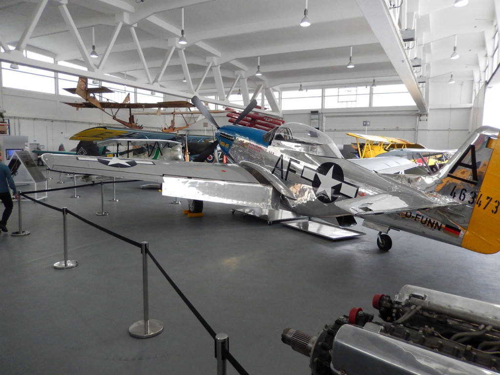 Airplane museum at EDAH