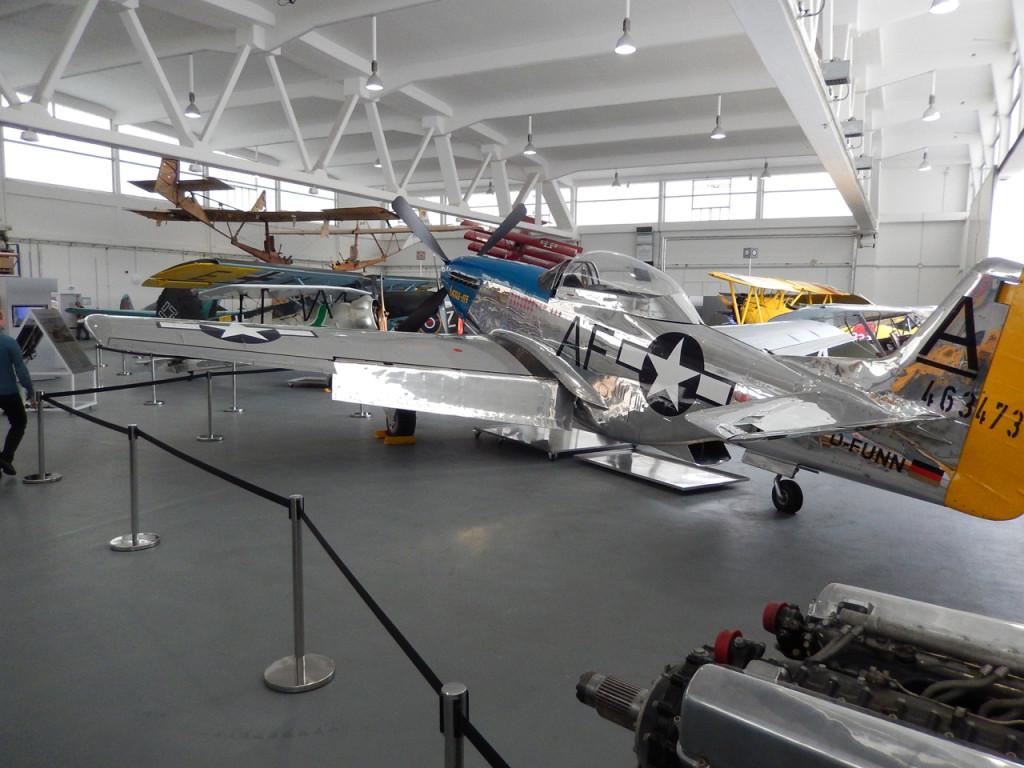 Airplane museum at EDAH